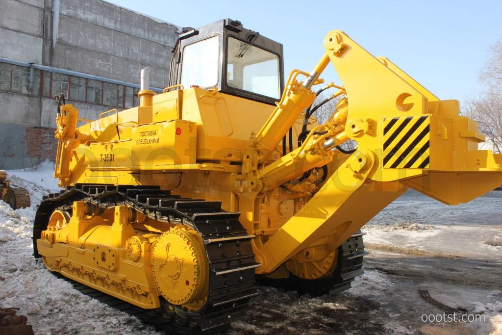 Характеристика бульдозера Т-3501, трактора Т-35.01, Т-35 ...